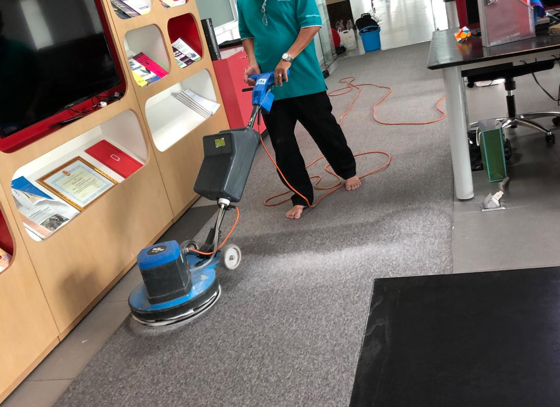 Phương pháp vệ sinh thảm của công ty vệ sinh công nghiệp A2Z