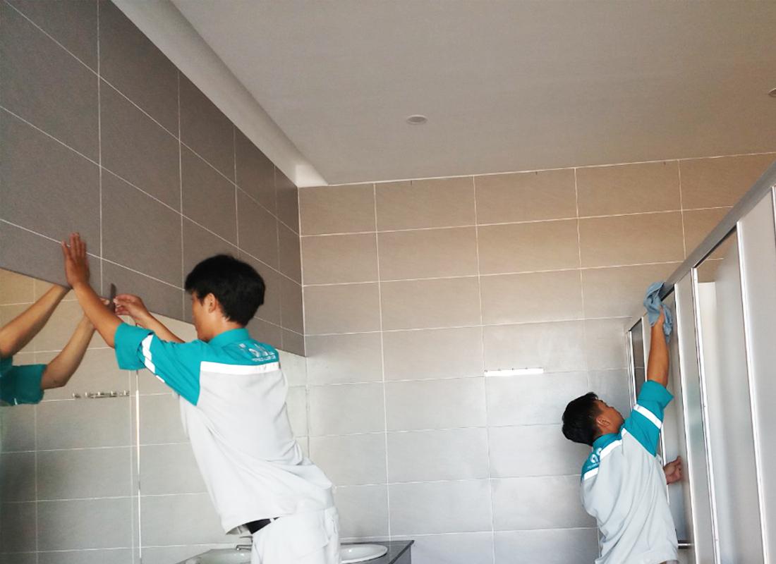 Phương pháp vệ sinh toilet của công ty vệ sinh công nghiệp A2Z